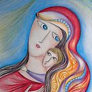 Mary and Jesus by aveela
