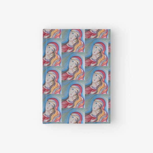 Mary and Jesus Hardcover Journal