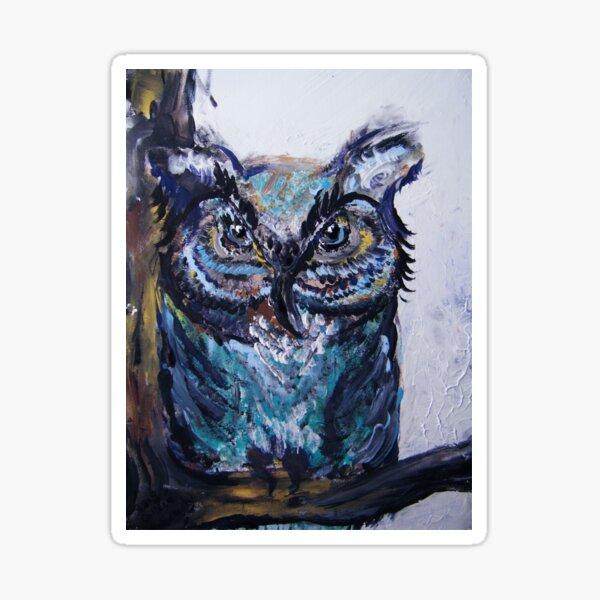 Desi's Owl Sticker