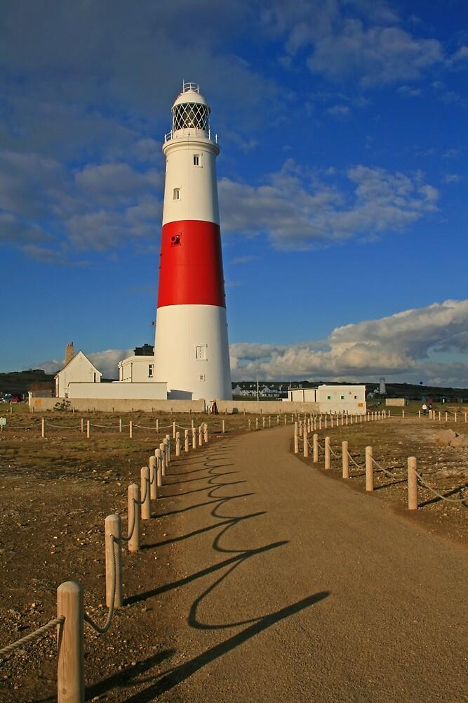 Lighthouse, Portland Bill by RedHillDigital
