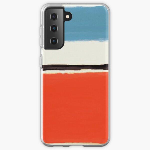 White Center Samsung Galaxy Soft Case