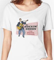 EDDIE BOND ROCKIN' DADDY Women's Relaxed Fit T-Shirt