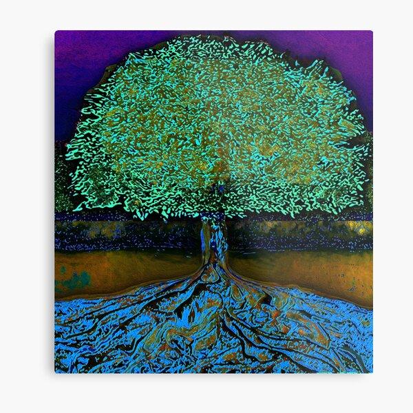 Tree of Life Peace and Calmness Metal Print