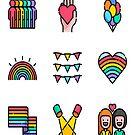 LGBT PRIDE T SHIRT by malda16