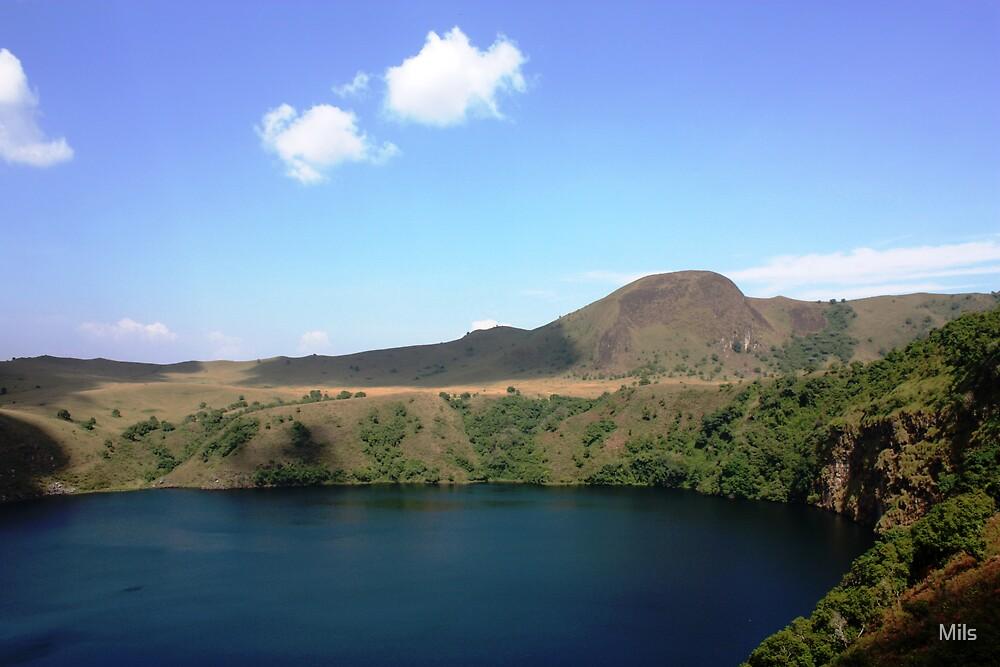 "Manenguba ""female"" lake - Littoral Province, Cameroon by Mils"