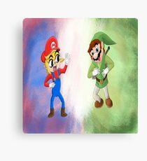 Nintendo Mash Up  Canvas Print