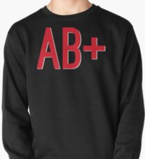 AB+ Blood Type Pullover