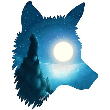 Midnight Wolf by DVerissimo