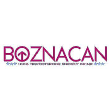 BOZNACAN Energy Drink Logo by OctoberFifteen