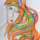 Stylized Samodiva by aveela
