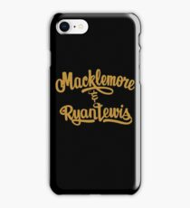Macklemore & Ryan Lewis iPhone Case/Skin