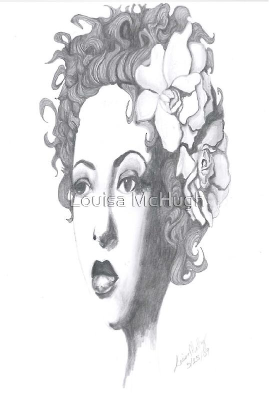 Billie Holiday by Louisa McHugh