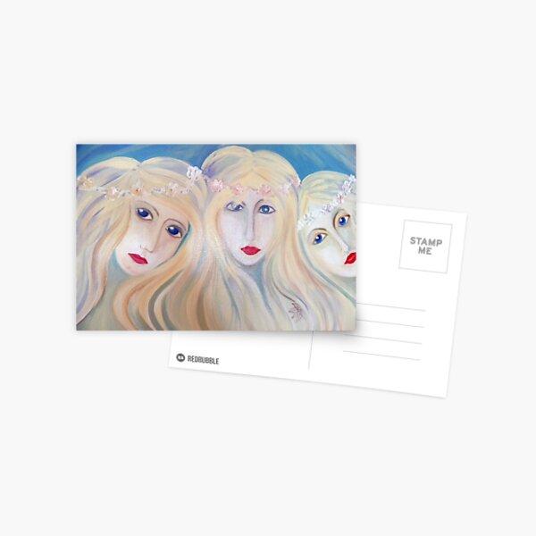 Three Samodivi Postcard