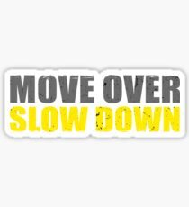Move Over Slow Down Tow Truck Driver Sticker