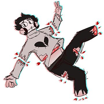 ( EchoCosmo ) Zacharie | Inspired by OFF - Mortis Ghost by Laylaverse