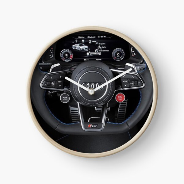 steering wheel 2 Clock