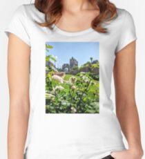 London: Bridges & Flowers Women's Fitted Scoop T-Shirt