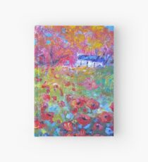 Poppies and Willows Hardcover Journal