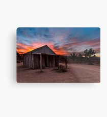 The Old Moxans Hut Metal Print