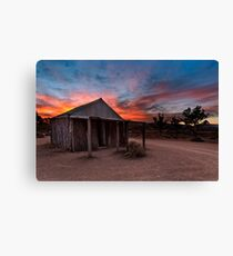 The Old Moxans Hut Canvas Print