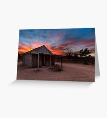 The Old Moxans Hut Greeting Card