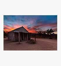 The Old Moxans Hut Photographic Print