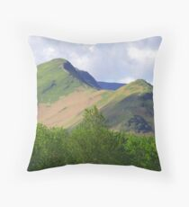 Catbells Throw Pillow