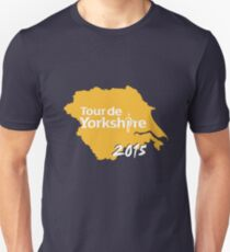 Tour de Yorkshire 2015 white T-Shirt