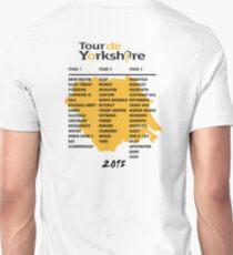 Tour de Yorkshire 2015 Tour - On back Unisex T-Shirt
