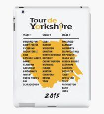 Tour de Yorkshire 2015 Tour iPad Case/Skin