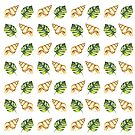Tropical Summer Pattern by Erika Lancaster