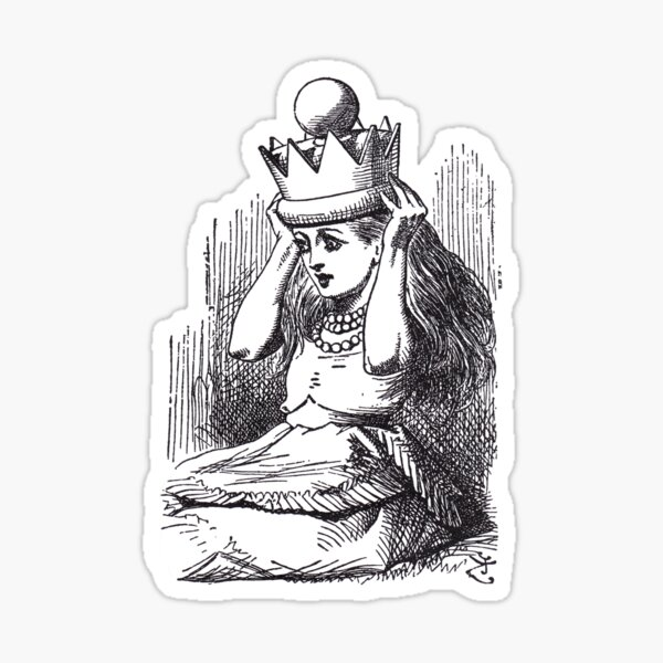 Queen Alice Sticker