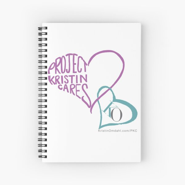 Project Kristin Cares Spiral Notebook