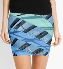 Abstract Architecture Mini Skirt