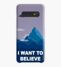 I WANT TO BELIEVE - PHONE CASE Case/Skin for Samsung Galaxy