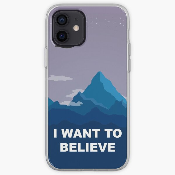 I WANT TO BELIEVE - PHONE CASE iPhone Soft Case