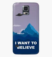 Ich möchte glauben - PHONE CASE Hülle & Klebefolie für Samsung Galaxy