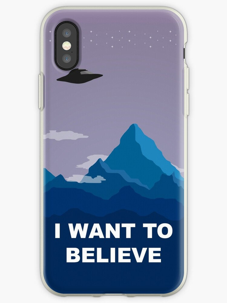 I WANT TO BELIEVE - PHONE CASE by paton