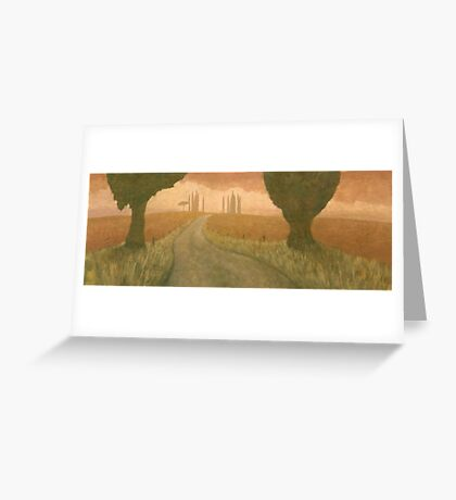 Tuscan Trail II Greeting Card
