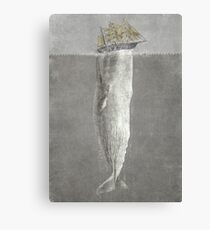 Revenge of The Whale  Canvas Print