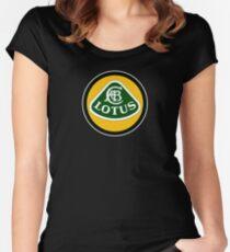 Lotus T shirt Cars Logo Original Official Women's Fitted Scoop T-Shirt