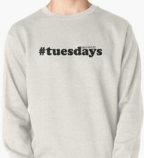#tuesdays - black Pullover