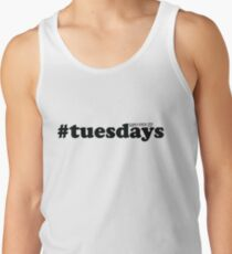 #tuesdays - black Tank Top