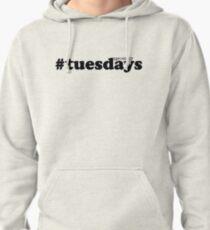 #tuesdays - black Pullover Hoodie