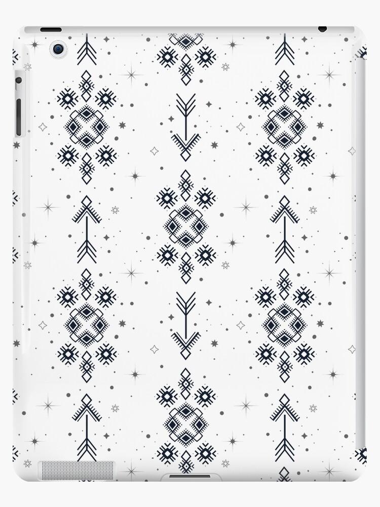 51d656eac26f0 Tattoo tribal seamless ornament. Aztec motifs background.