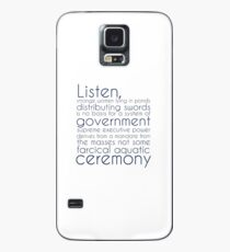 I Didn't Vote for You Case/Skin for Samsung Galaxy