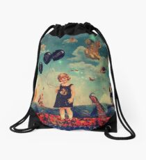 Here Is No Why Drawstring Bag