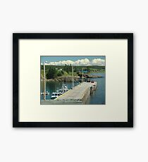 Scott's Bay Framed Print