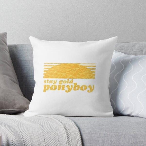 Stay Gold, Ponyboy Throw Pillow