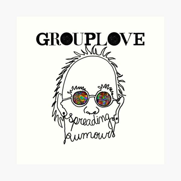 Grouplove Spreading Rumours Art Print